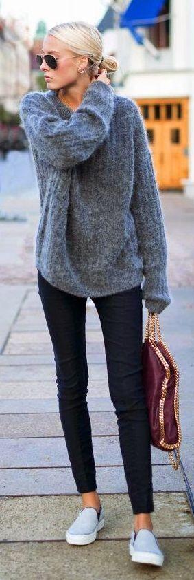 Hangat dan Trendy dengan Sweater si Dia