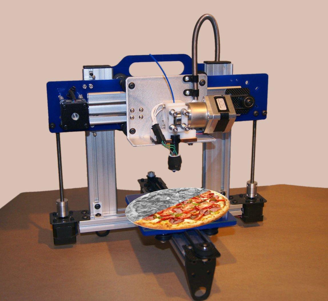 Mencoba Kreasi Membuat Pizza dengan Printer 3D