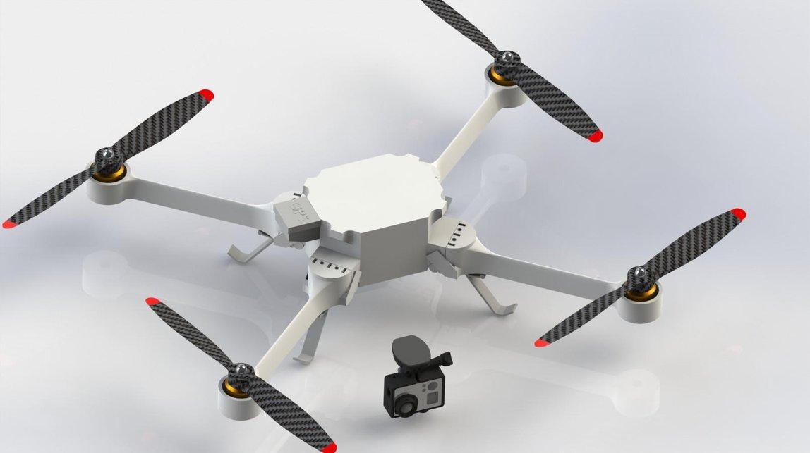 Semua Bisa Membuat Drone dengan Bantuan Printer 3D