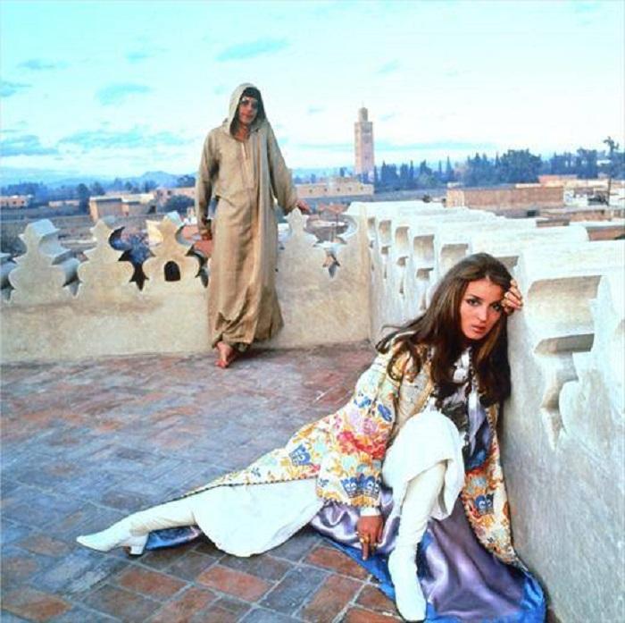Talitha Getty, Model Hippie Lawas yang Bisa Kamu Contoh