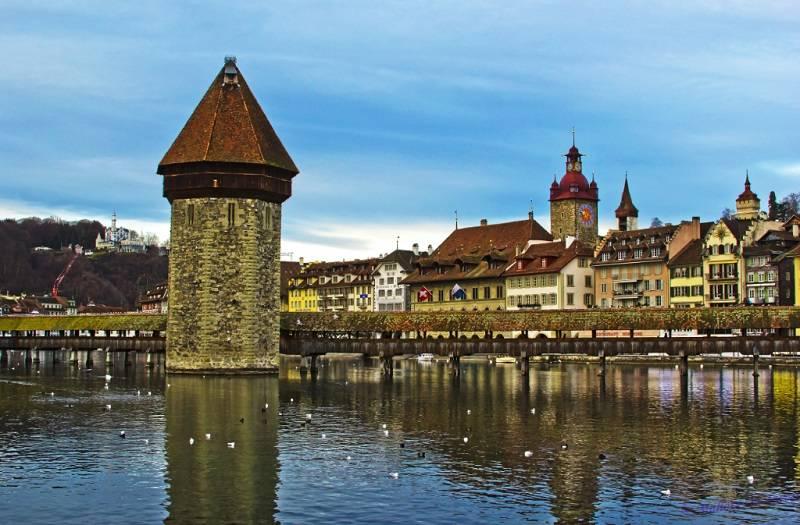 Swiss, Negara kaya