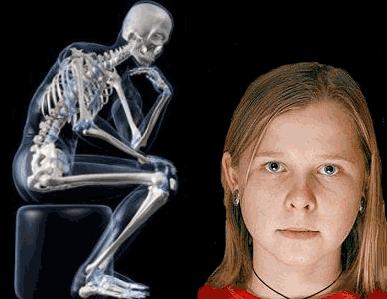 manusia unik dan aneh; Natasha Demkina; Gadis sinar-X