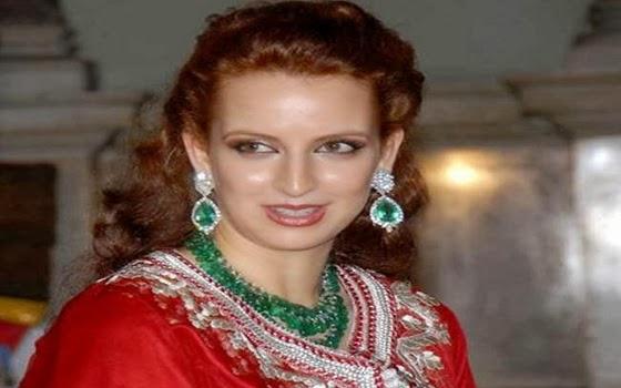 wanita muslimah cantik - Lalla Salma