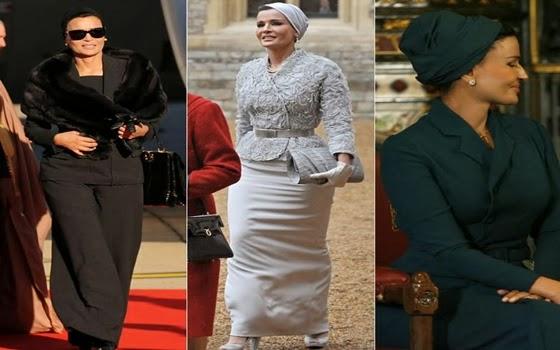 wanita muslimah tercantik di dunia - Sheikha Mozah