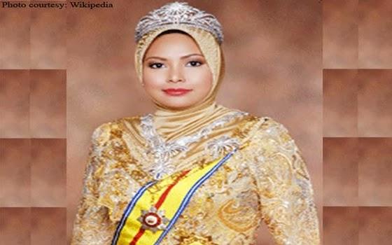 wanita berhijab kaya di dunia - Sultanah Nur Zahirah