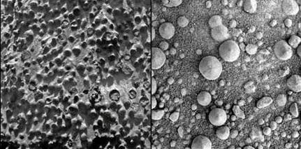 Benjolan-Benjolan Aneh Di Permukaan Planet Mars