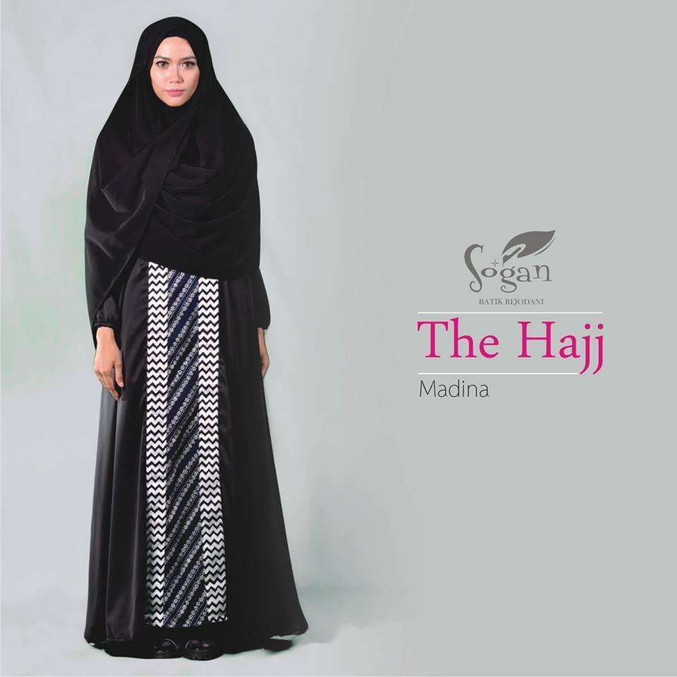 Tampil Elegan Dengan Gamis Batik Hitam