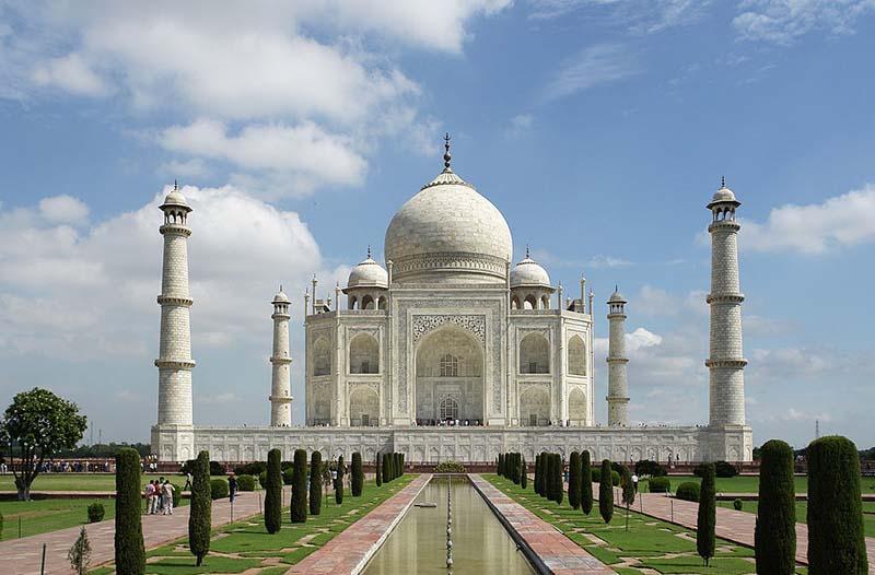 Tajmahal ikon negara India