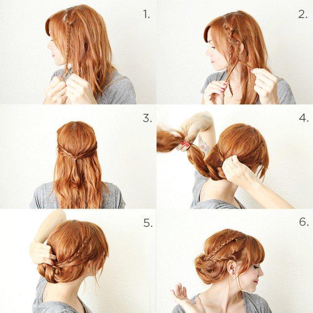 rambut kepang cantik
