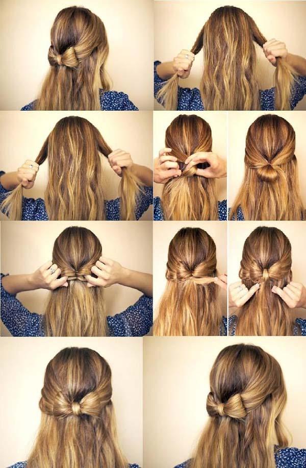 Model rambut cantik terurai