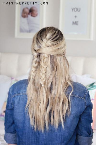 Model rambut Kepang Dua