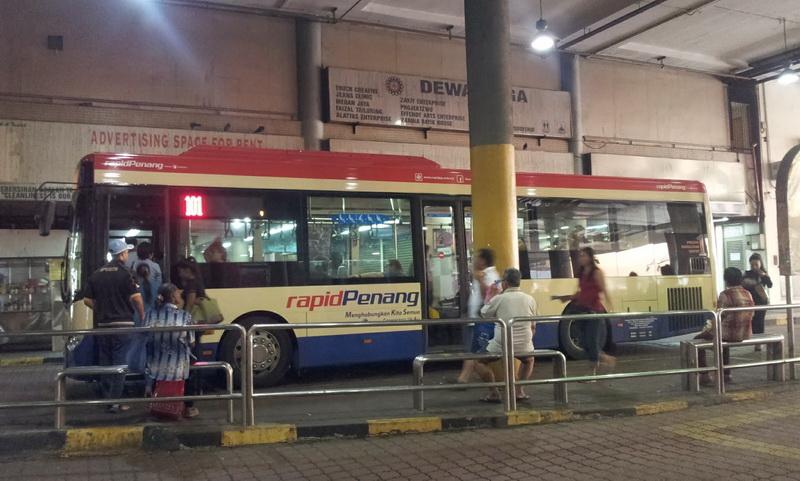 Bus di Penang