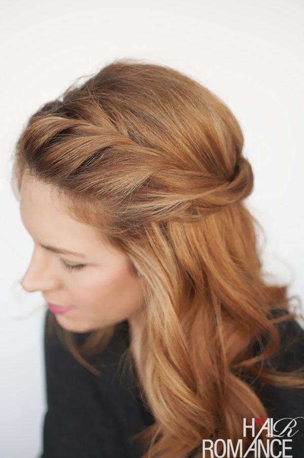 Gaya Rambut Kepang simpel
