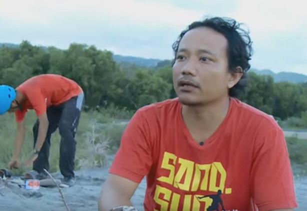 Siddiq penggagas Sandboarding Indonesia