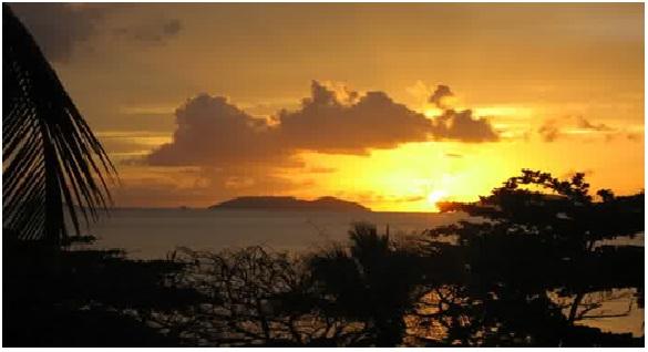 Sunset di Bukit Malimbu