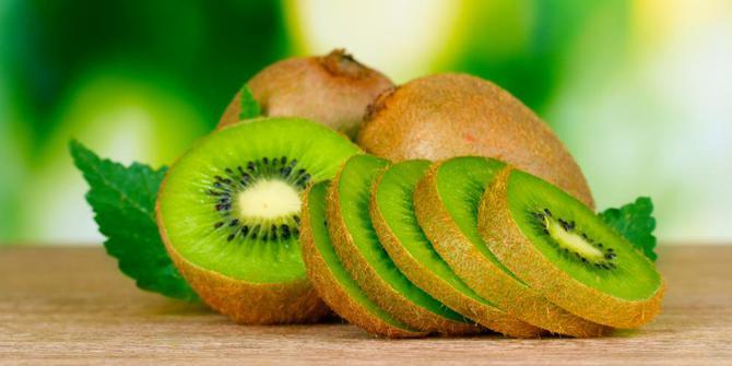 Kiwi, camilan yang bikin kulit sehat dan perut kenyang