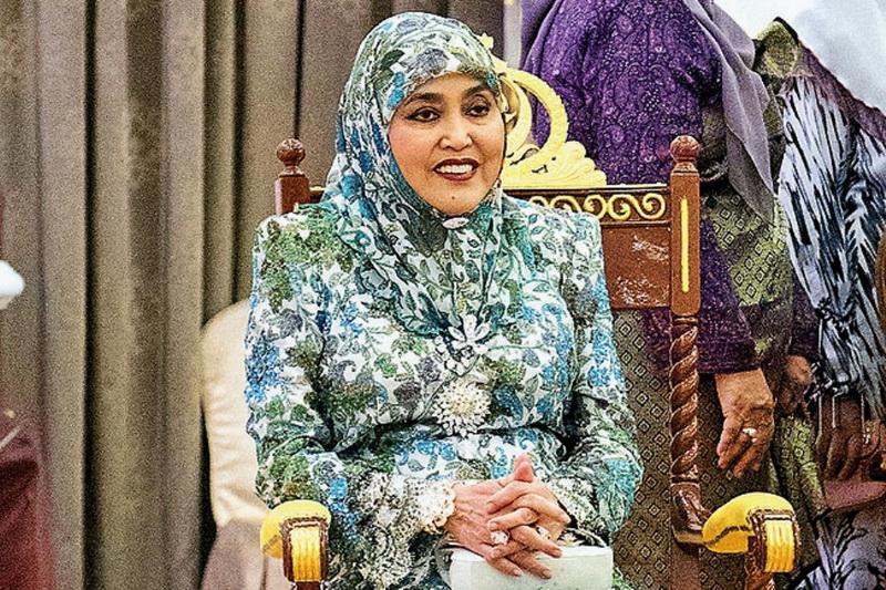 Saleha binti Mohamed Alam permaisuri Brunei Darussalam