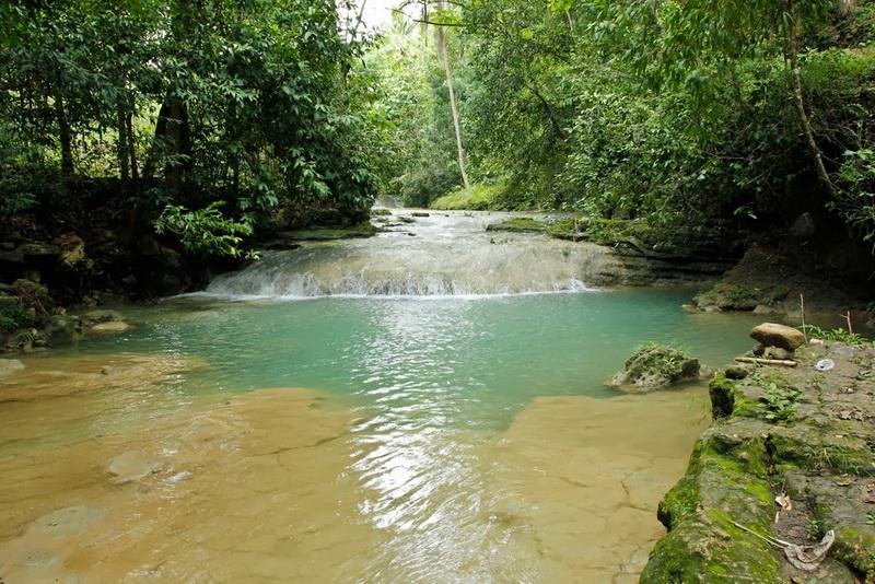 "Air Terjun Lepo "" Erawan Falls"""