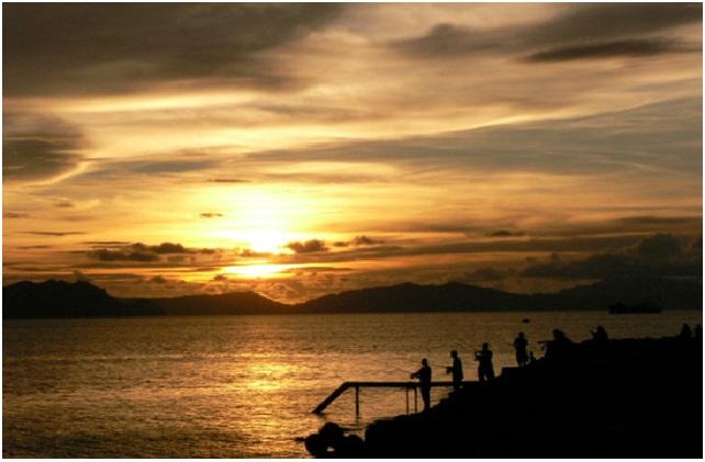 Sunset di Pulau Weh