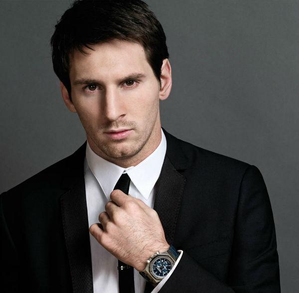 Messi, pesebakbola terganteng di dunia