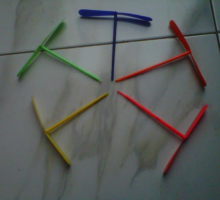 mainan jadul baling bambu