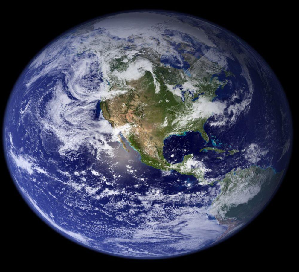 Bentuk Bumi Itu Bulat Sempurna