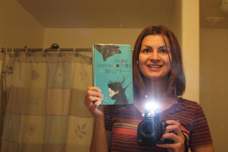 selfie penulis buku