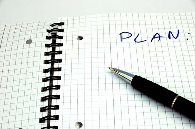 Buat rencana untuk esok