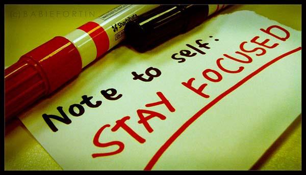 Fokus pada satu pekerjaan