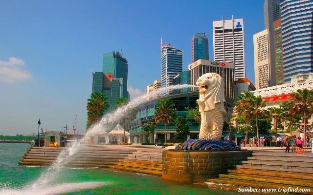 Singapura sebagai kota termahal di dunia