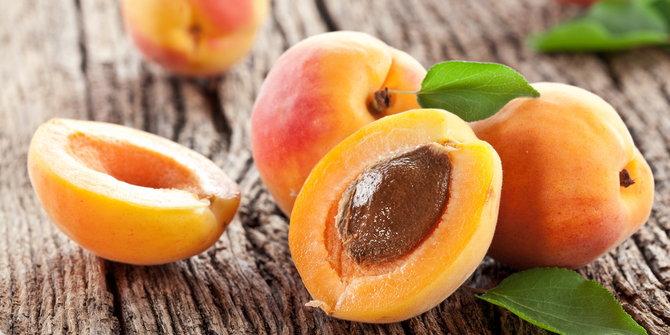 aprikot, buah-buahan super kuatkan jantung