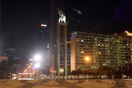 Memotret Pemandangan Kota Jakarta