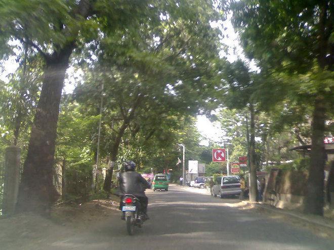 jalan taman sari, tempat terseram di bandung