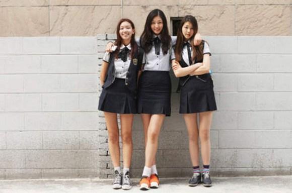 Seragam Sekolah Seksi korea selatan