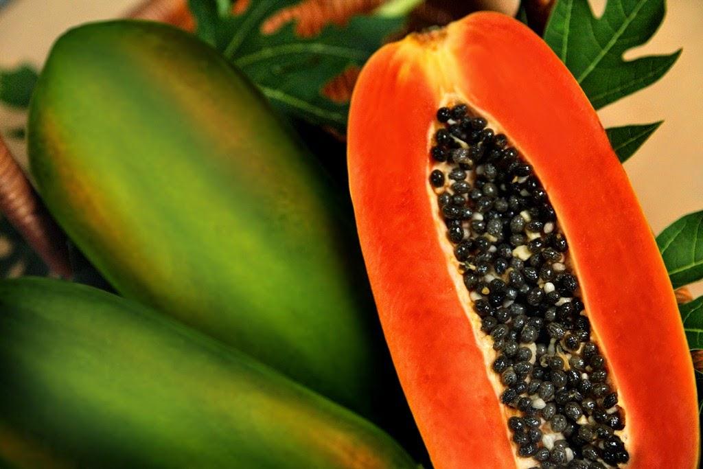 pepaya, buah-buahan super kuatkan jantung