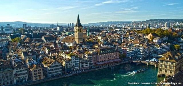 Zurich, kota paling mahal di dunia