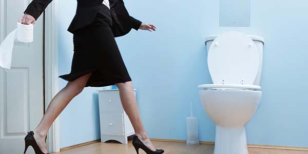 Pergi ke toilet