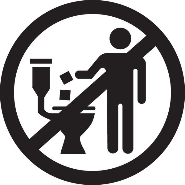 tissue di toilet
