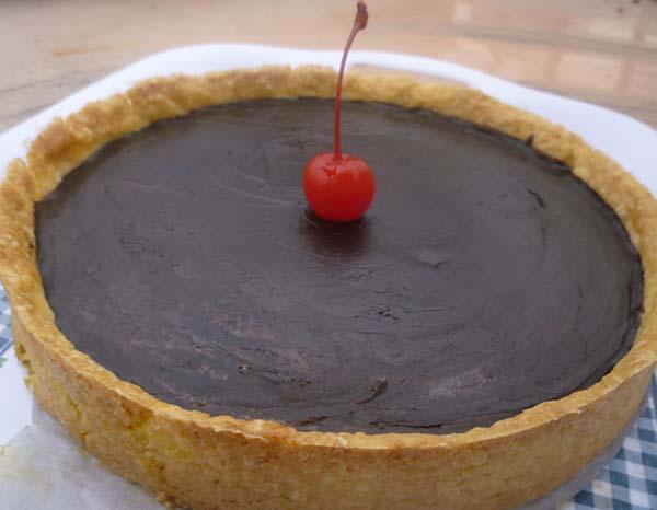 Pie cokelat