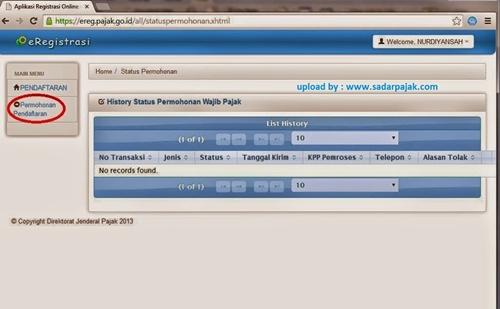 npwp pribadi online