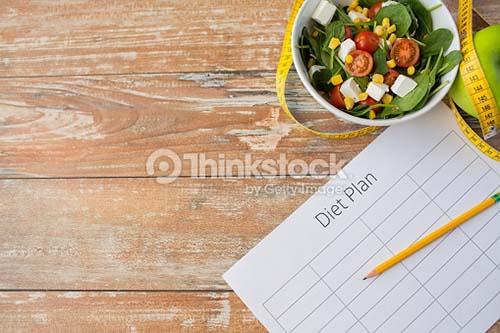 Ilustrasi rencana diet