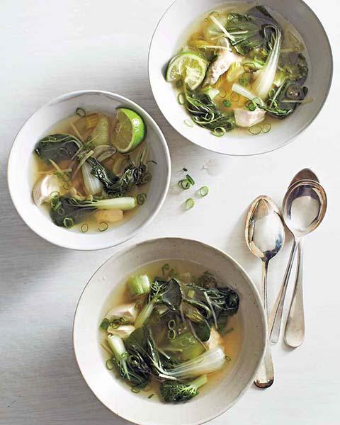 Sup Pok Choy
