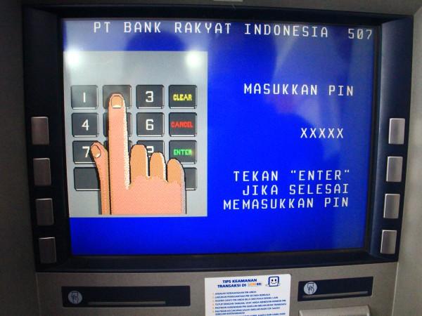 Jangan terlalu sering mengambil uang di ATM