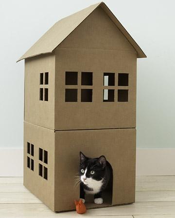 Rumah Kardus Untuk Anjing Atau Kucing Kesayanganmu