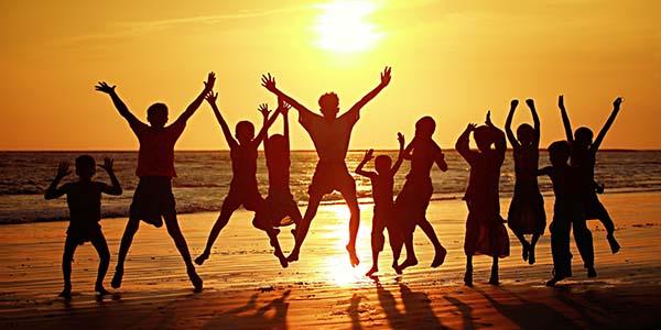 Bahagia bersama orang terdekat