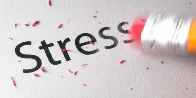 Berolahraga dapat menghilangkan stress