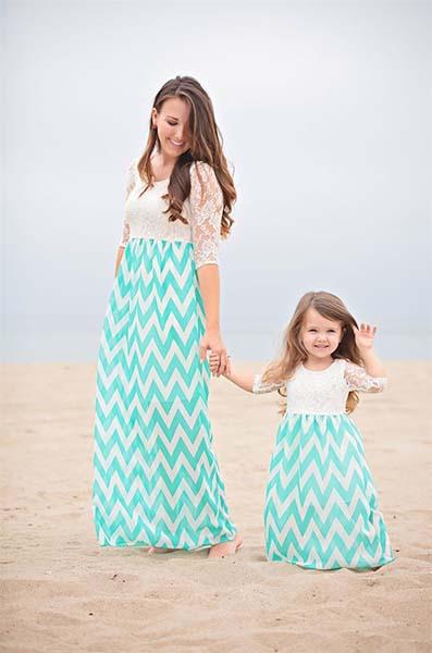 Foto baju couple Ibu dan anak