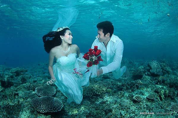 Konsep Pre-Wedding Underwater