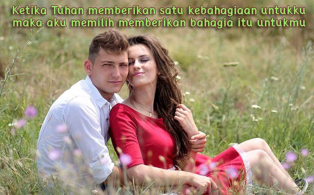 Gambar Kata Romantis, Berbagi Kebahagiaan Bersama