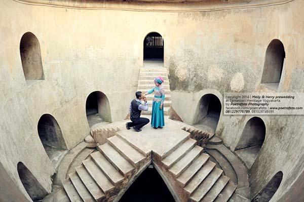 Konsep Pre Wedding bertemakan sejarah